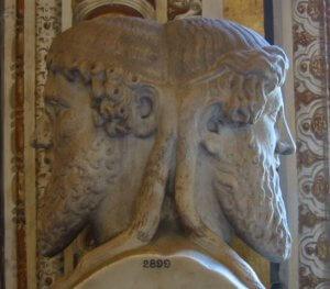 Статуя Януса в Ватикане